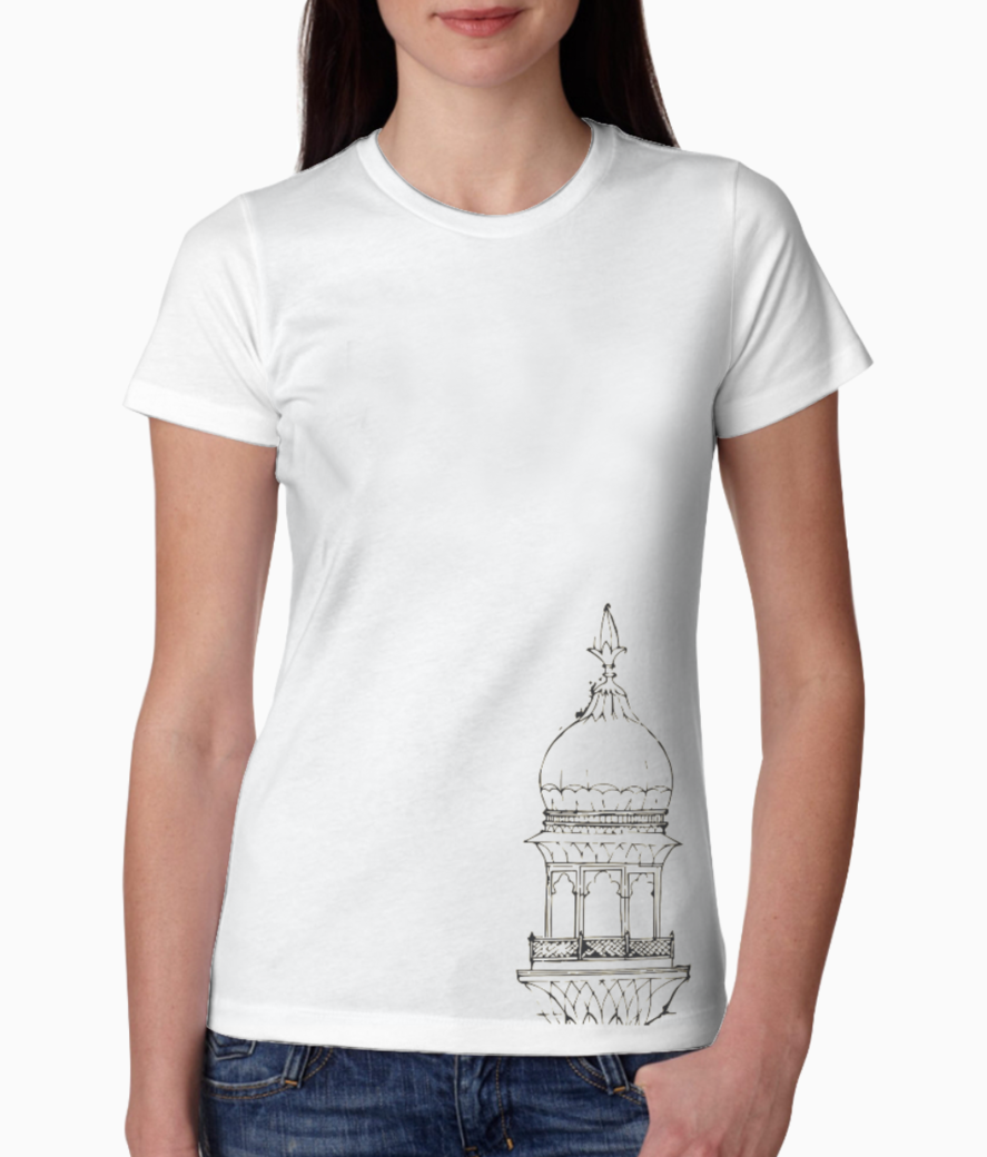Architecture tee front