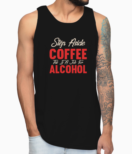Step aside coffee vest front