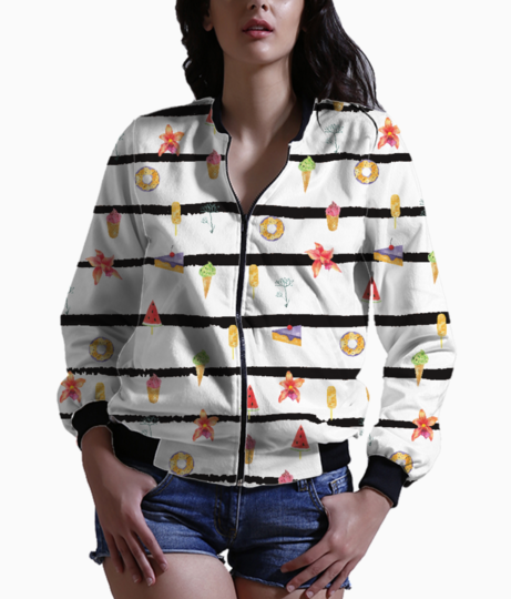 French summer bomber front