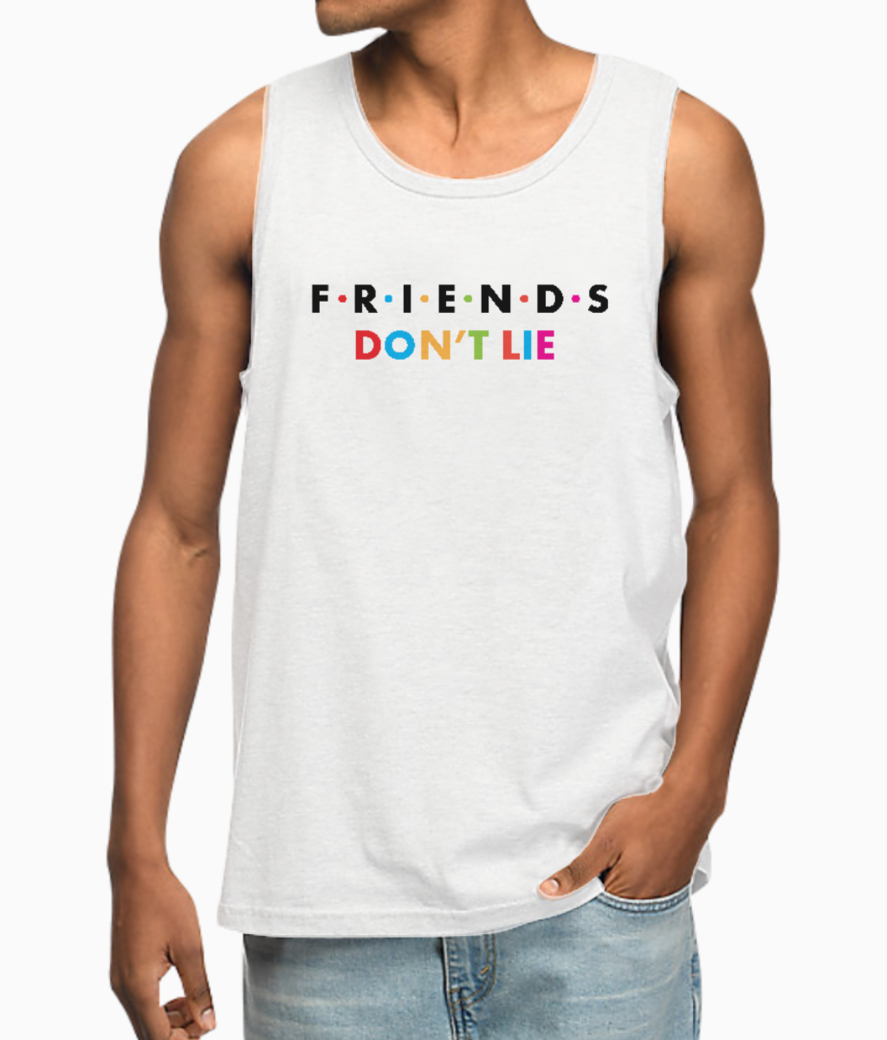 Friends dont lie vest front