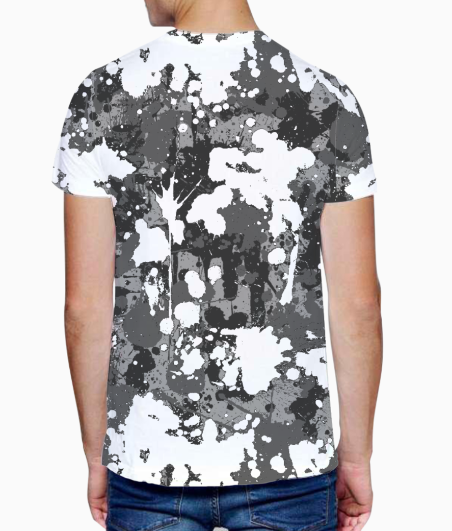 Ucly camo 01 t shirt back