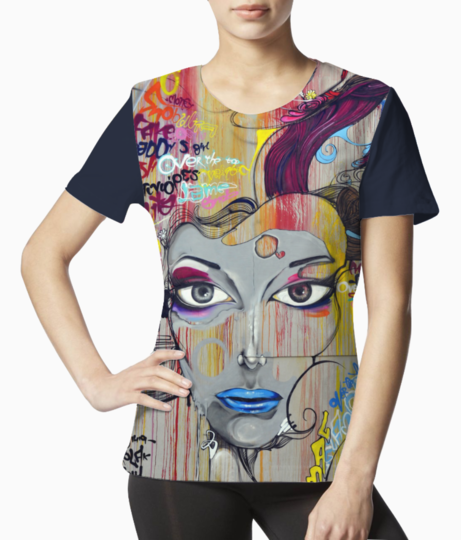 Face tee front