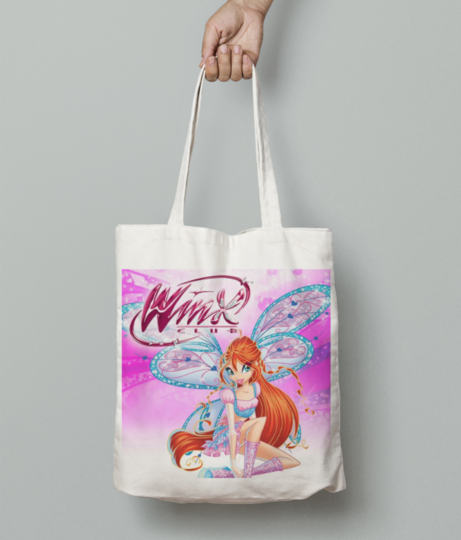 Show cover winx new tote bag front