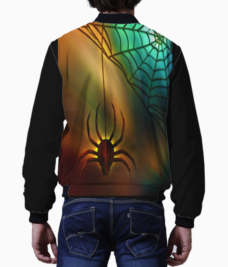 Spider and web bomber back