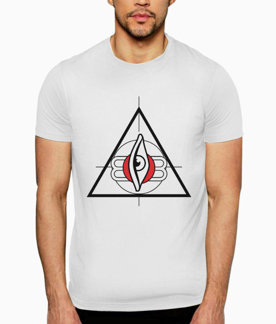 All seeing third eye 01 t shirt front