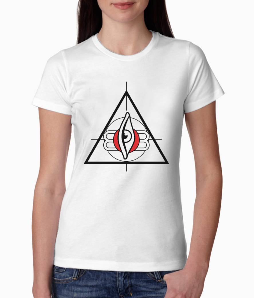 All seeing third eye 01 tee front