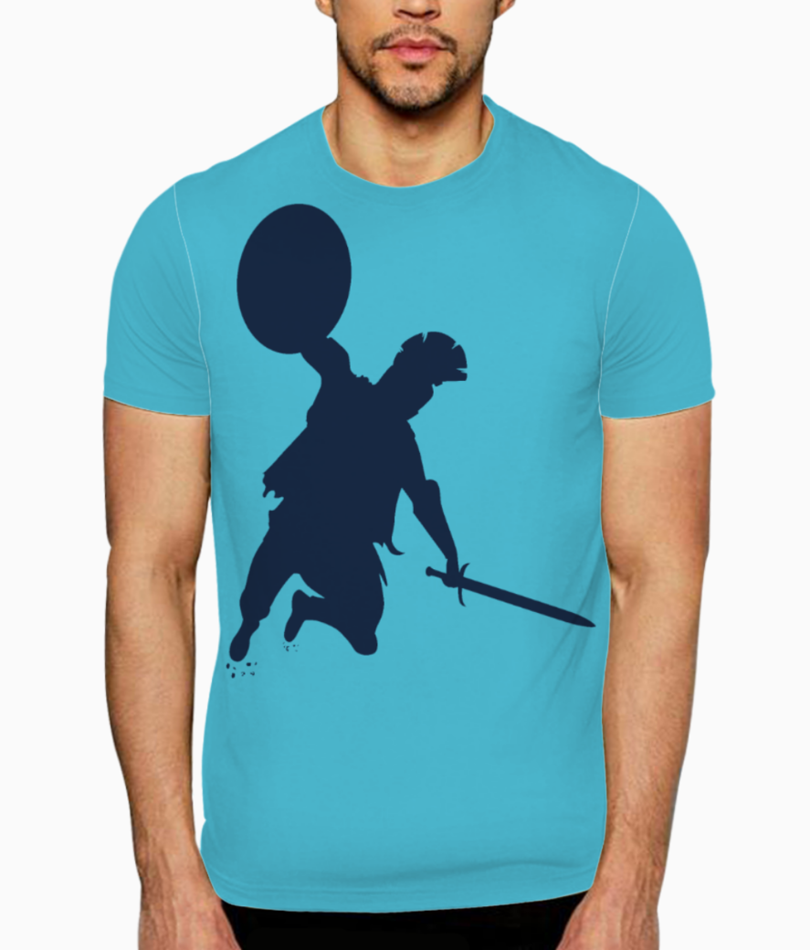 Spartan warriors in training t shirt front