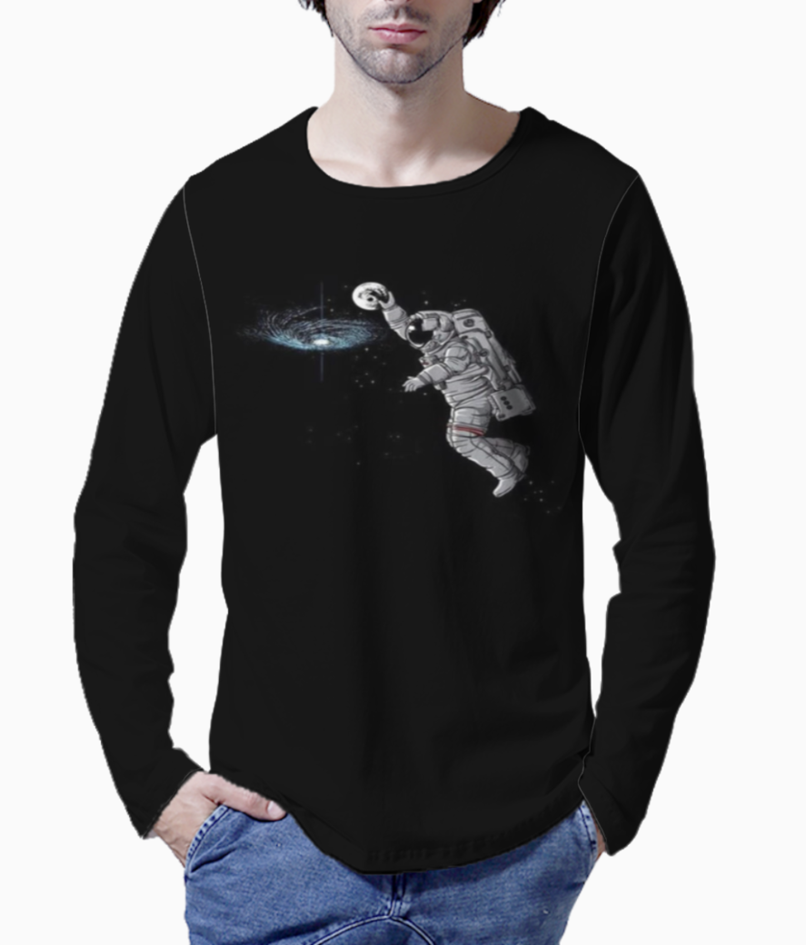 Space basketball henley front