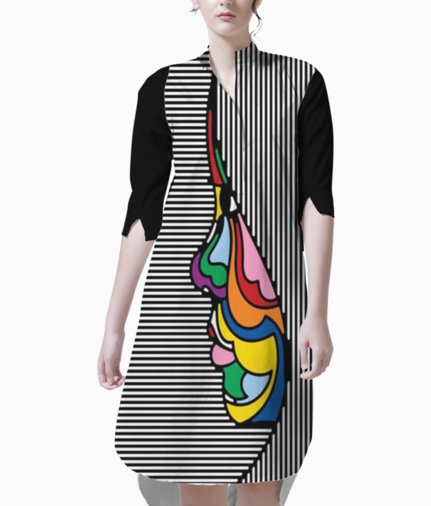 Lines kurti front