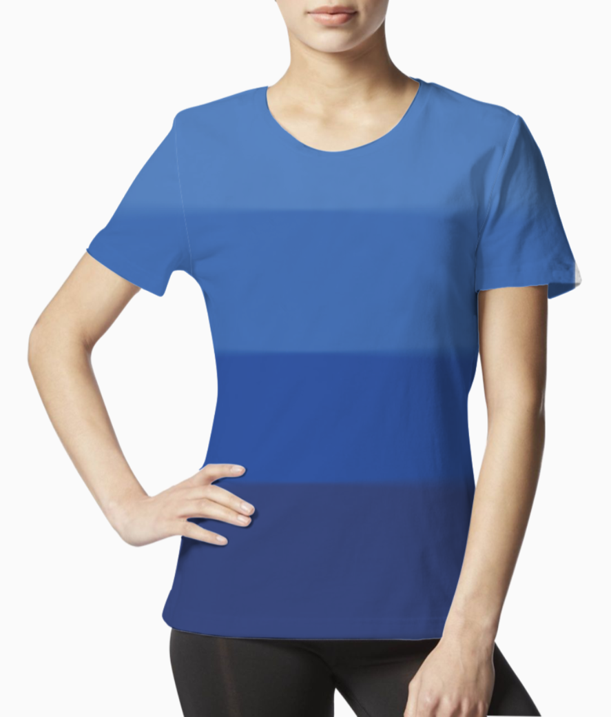 Ombre 01 tee front