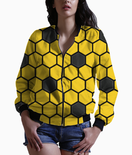 Honey bee 01 bomber front
