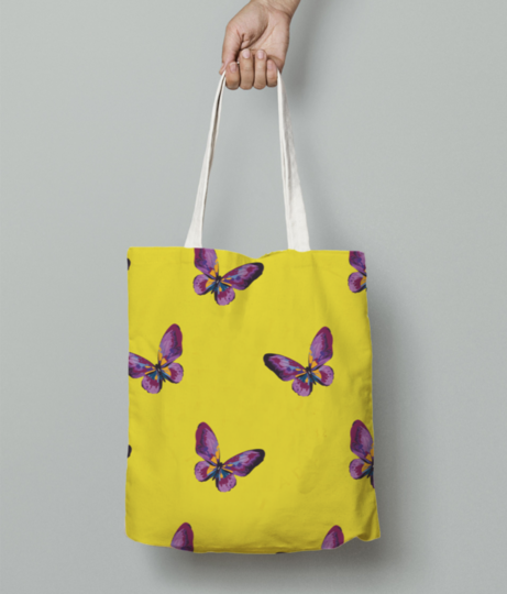 Butterfly 01 tote bag front