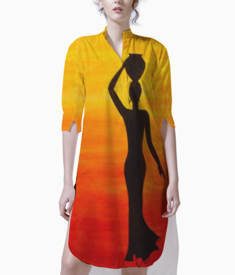 Silhouette kurti front