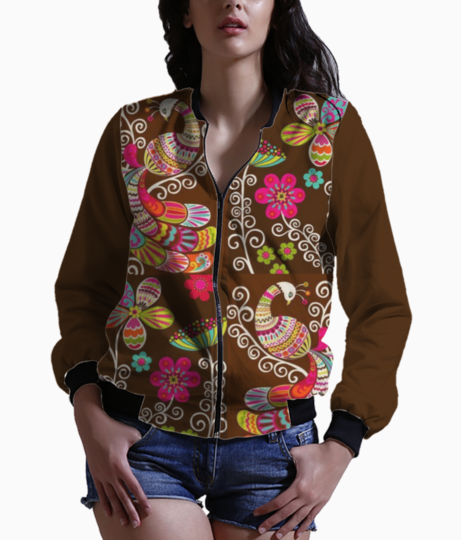 Browns in bloom bomber front