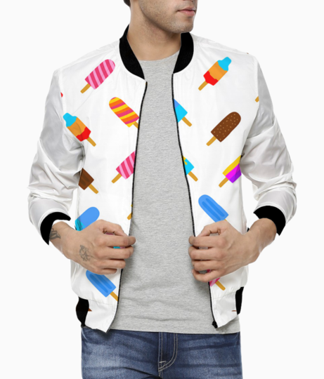 Colorful popsicle bomber front