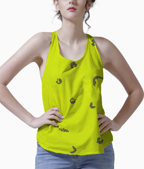 Green tank front