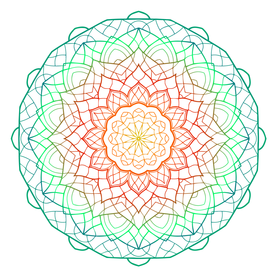 Mandala 2 colour 01