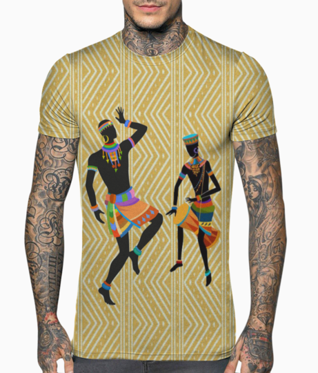 Ethnic dancing t shirt front