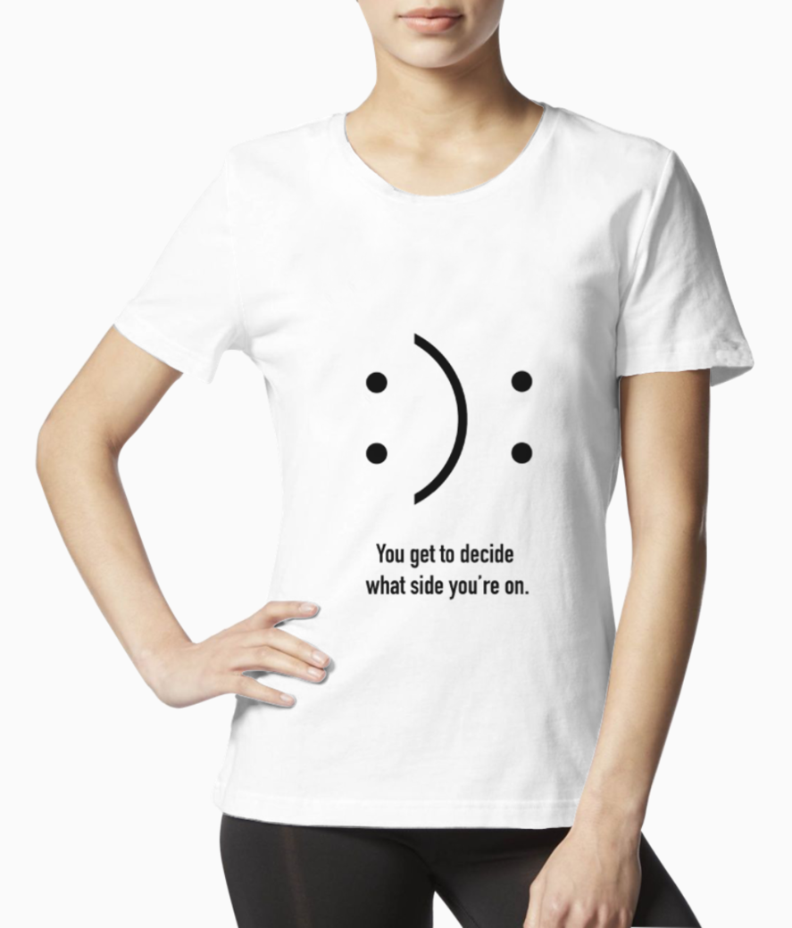 Smile tee front