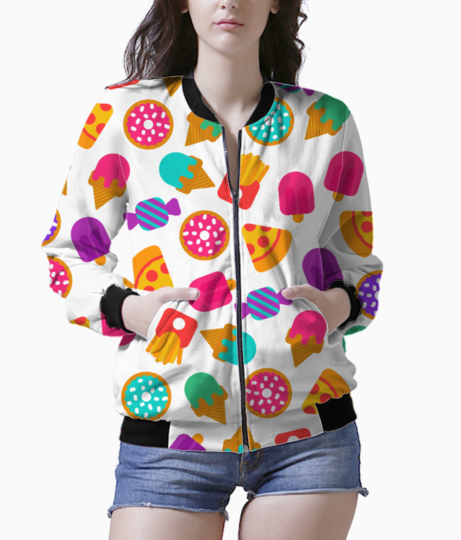 Food love 2 bomber front