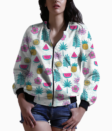 Tropical pattern 2 bomber front