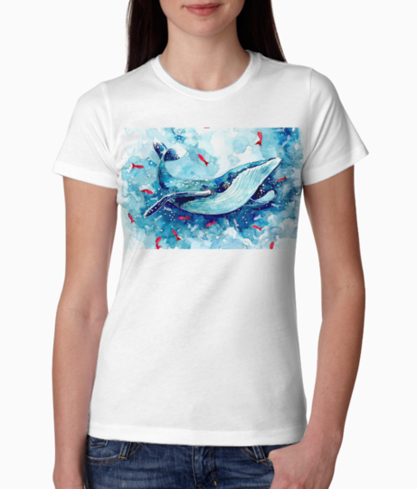 Whale fish tee front