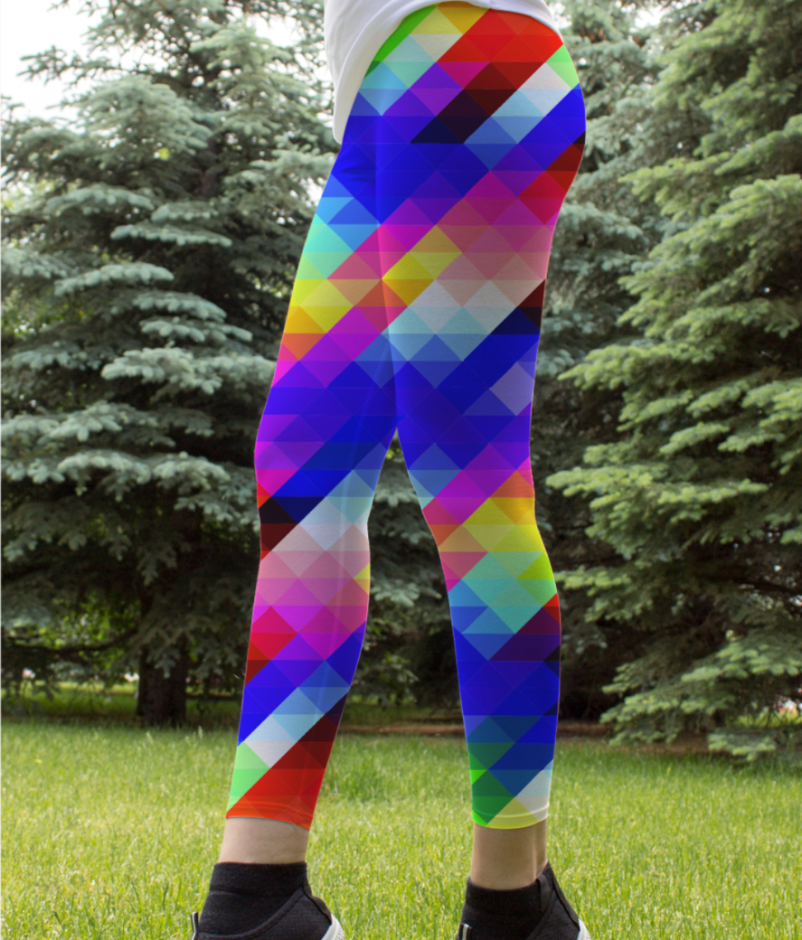 Pattern leggings front