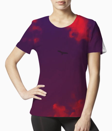 Fly2 tee front