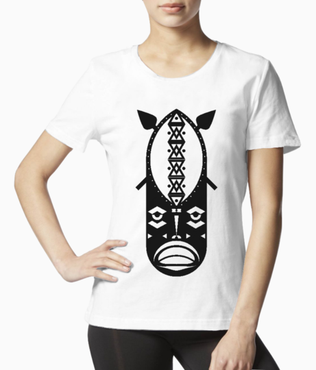 Warrior tribal tee front