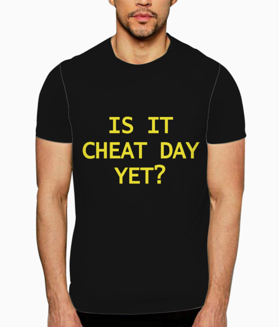 Cheat day 2 t shirt front