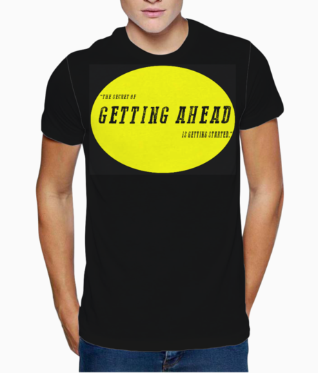 Started t shirt front