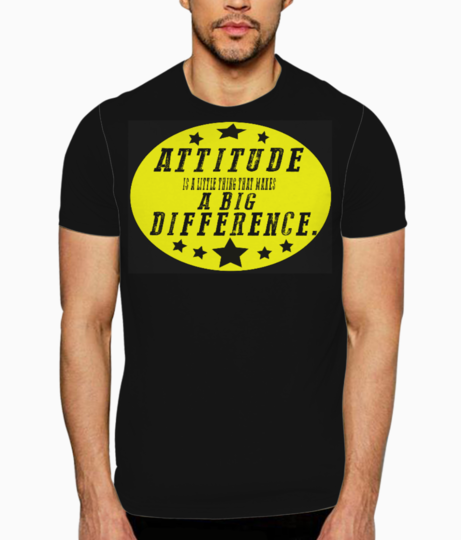 Attitude   color2 t shirt front