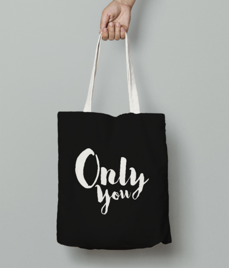 Only u tote bag front