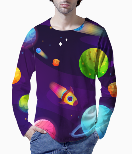 Space buddy henley front