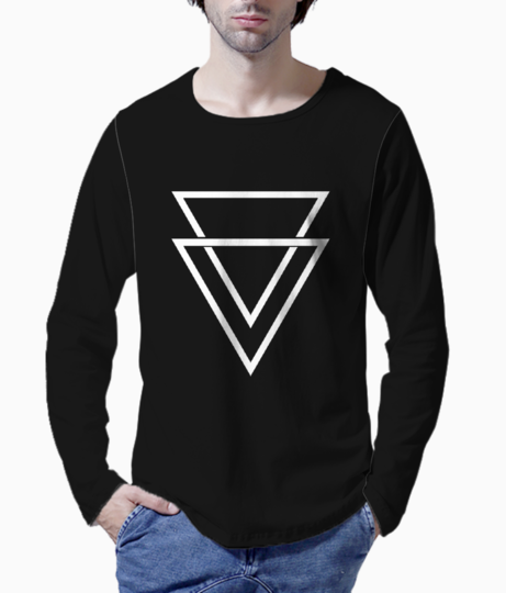Triangle double henley front