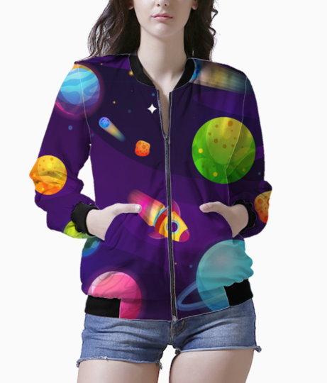 Space buddy bomber front