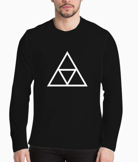 Vector triple triangle henley front