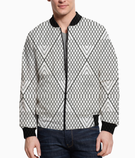 Ethnic triangle bomber front