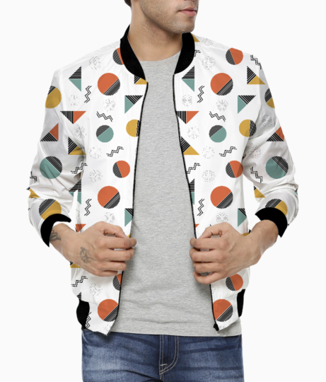 Geometry slicing shapes bomber front