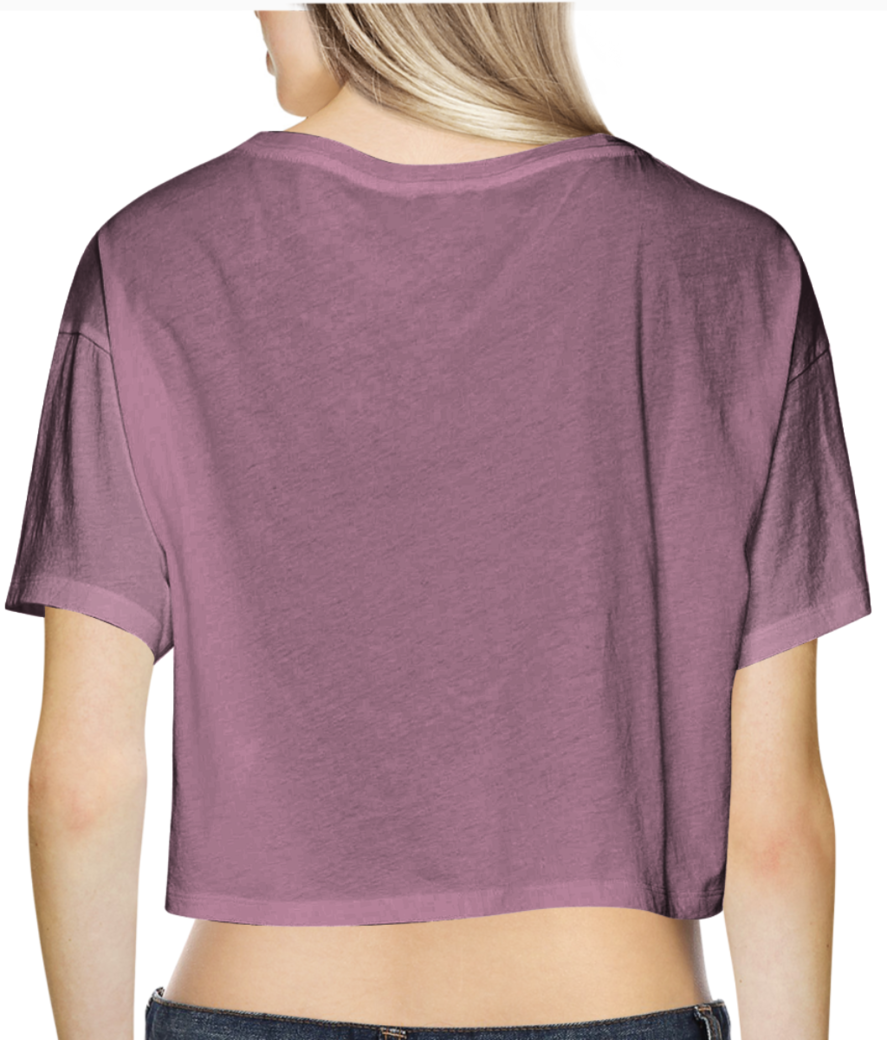 Untitled 1 crop top back