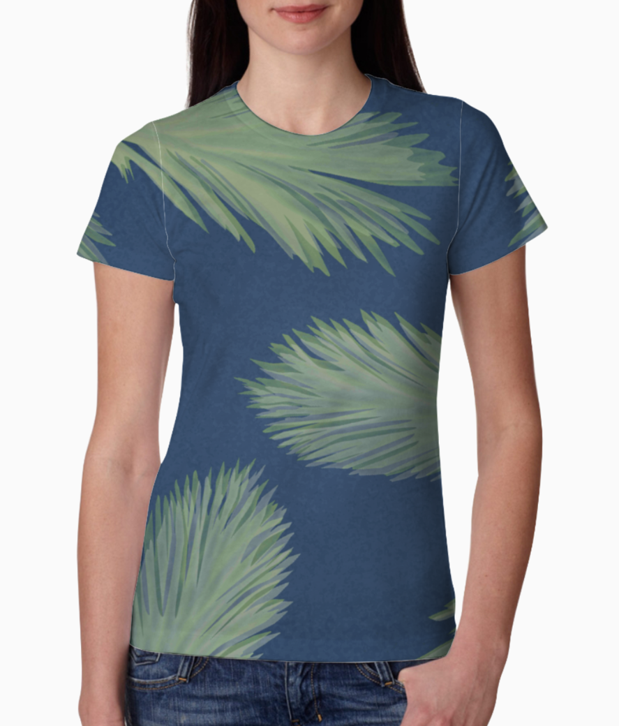 Leaf tee front