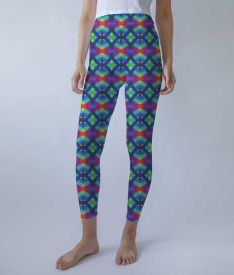 Star wire leggings front