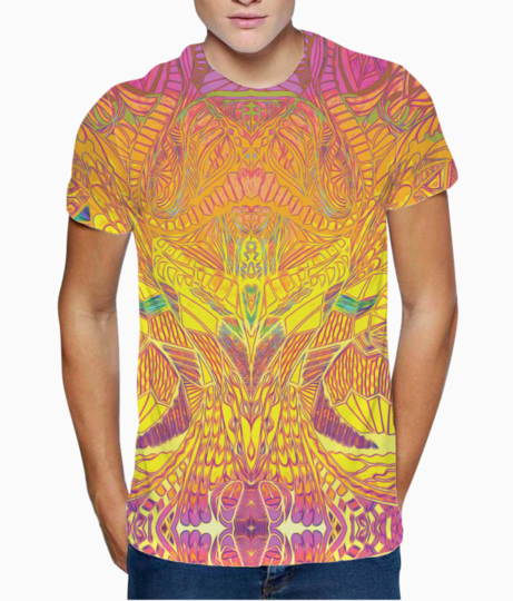 Abstract sunshine t shirt front