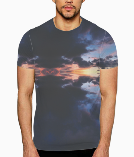Cloud burst t shirt front