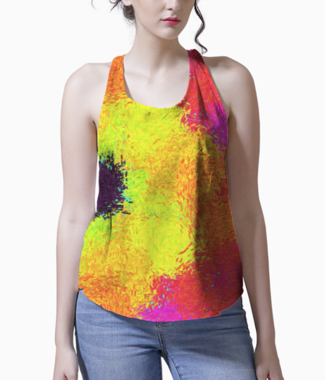 Color tank front