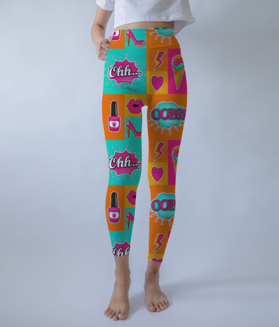 553 leggings front