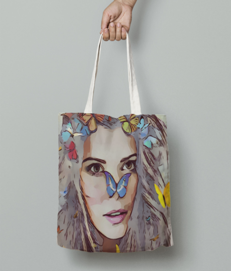 Fairy tote bag front