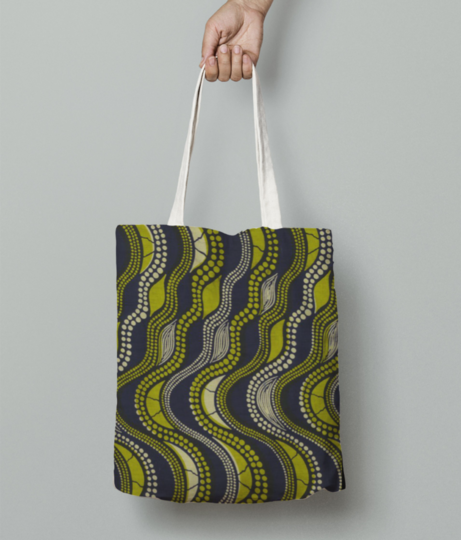 Lets play pattern tote bag front