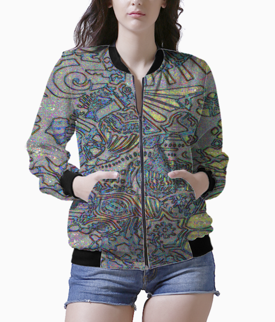 War dance sparkle bomber front
