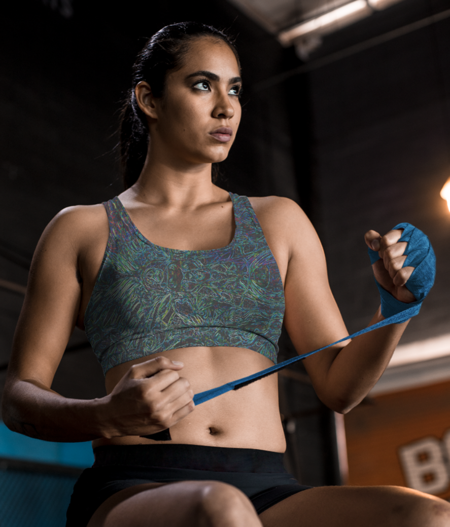 Just noise sports bra front